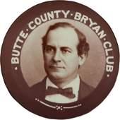 38664: William Jennings Bryan: Montana Pinback.