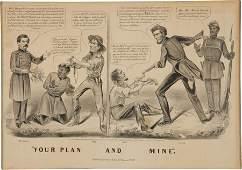 38575: Abraham Lincoln: 1864 Campaign Cartoon.