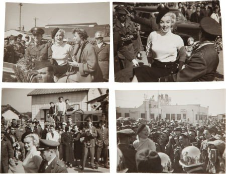 46016: A Marilyn Monroe Group of Never-Before-Seen Blac