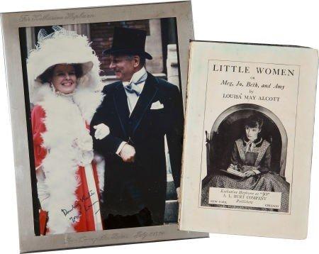 46021: Two Katharine Hepburn Mementos from Films, 1930s