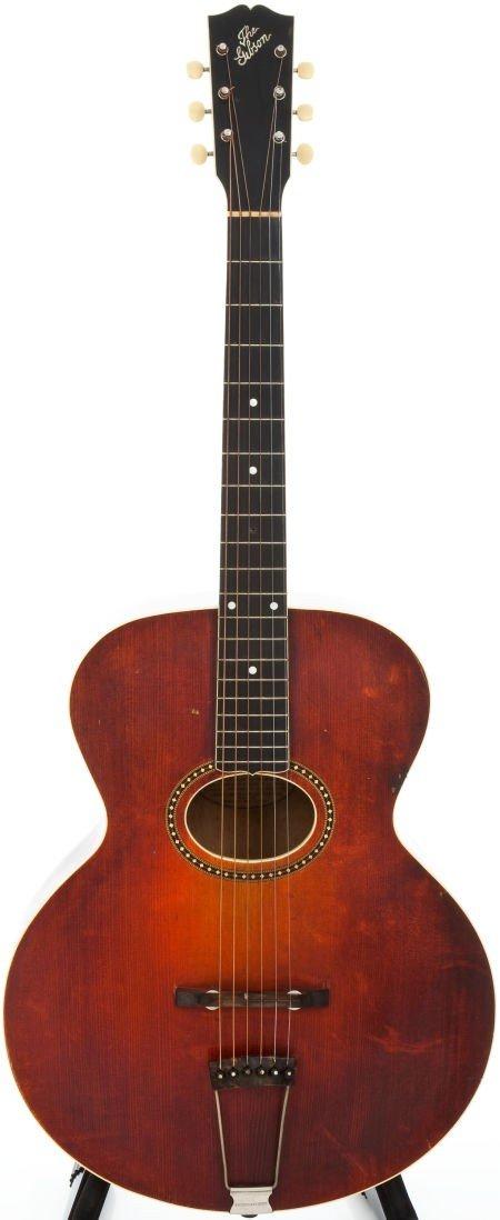 54001: 1917 Gibson L4 Sunburst Archtop Acoustic Guitar,