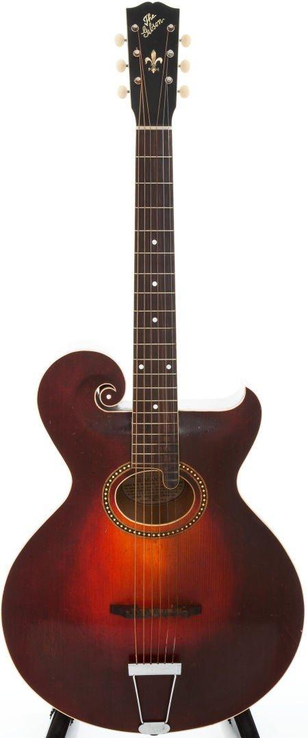 54002: 1920 Gibson Style O Artist Sunburst Acoustic Gui