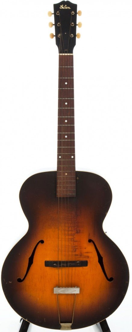 54003: 1930s Gibson L-4 Archtop Acoustic Guitar