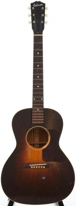 1930's Gibson L-1 Sunburst Acoustic Guitar, #393