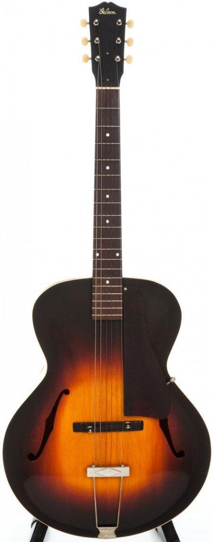 54005: 1937 Gibson L-4 Sunburst Archtop Acoustic Guitar