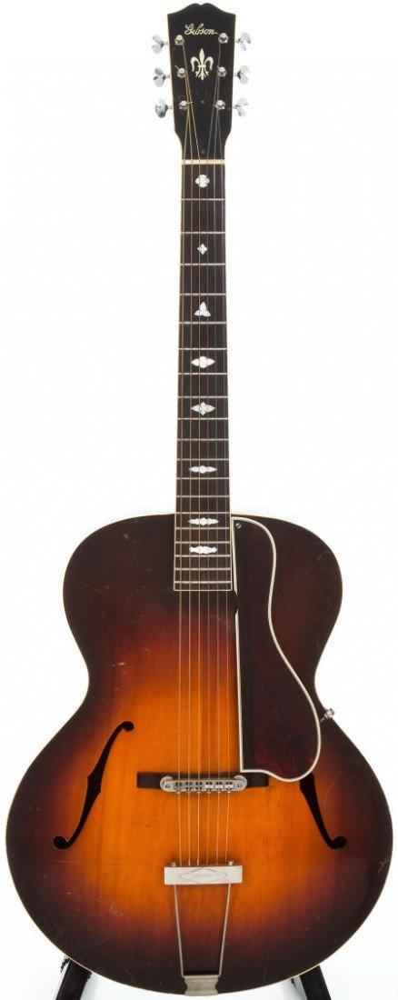 54006: 1938 Gibson L4 Sunburst Archtop Acoustic Guitar,