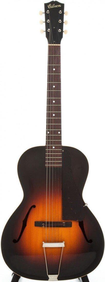 54007: 1939 Gibson L-30 Sunburst Archtop Acoustic Guita
