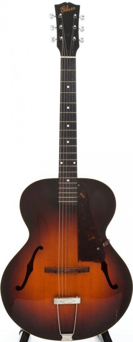 54011: Circa 1946 Gibson L-48 Sunburst Archtop Acoustic