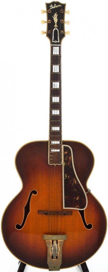 54015: 1952 Gibson L5 Sunburst Archtop Acoustic Guitar,