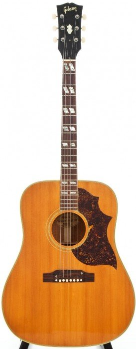 54016: 1965 Gibson Country Western Natural Acoustic Gui
