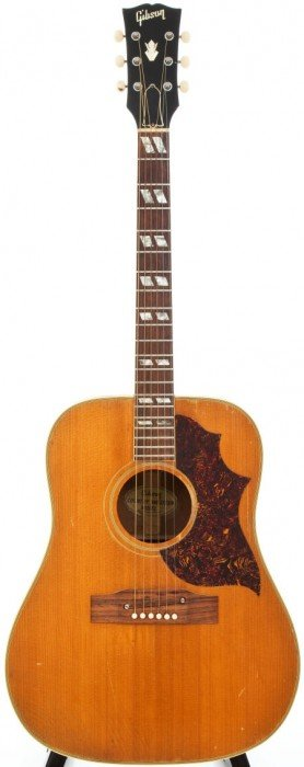 54023: 1969 Gibson Country Western Natural Acoustic Gui