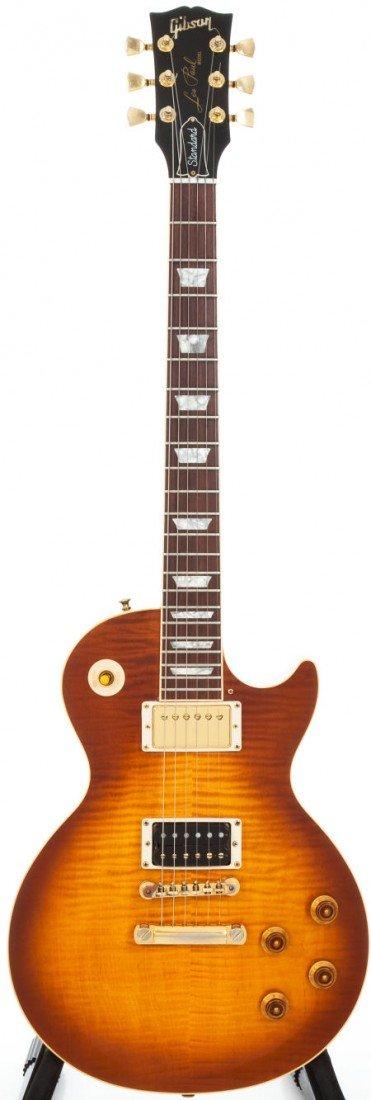 54174: 1996 Gibson Les Paul Standard Sunburst Solid Bod