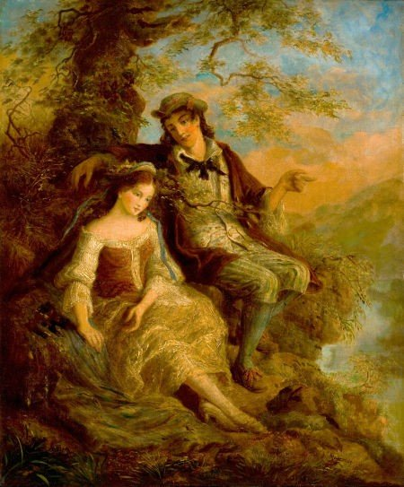 86007: WILLIAM MULREADY (British, 1805-1878) Young Love