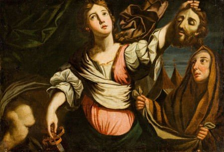 86015: BOLOGNESE SCHOOL (17th Century) Judith with the