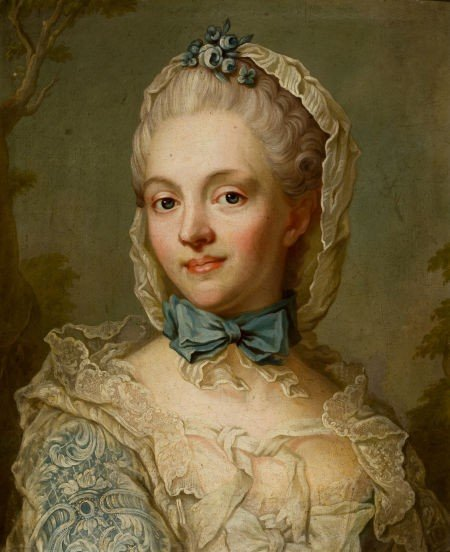 86018: SWEDISH SCHOOL (18th Century) Portrait of Counte