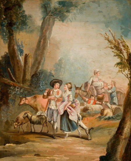 86020: Manner of FRANÇOIS BOUCHER (French, 1703-1770) R