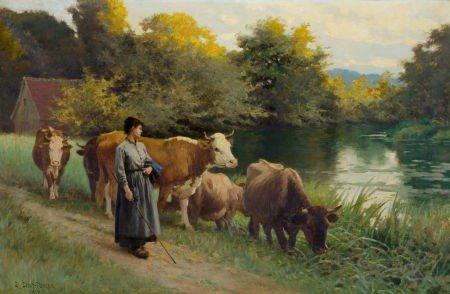 86025: EDOUARD BERNARD DEBAT-PONSAN (French, 1847-1913)
