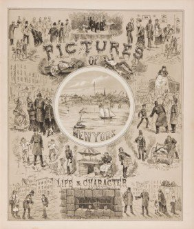 36003: G. W. Averell, lithographer. Pictures of Life an