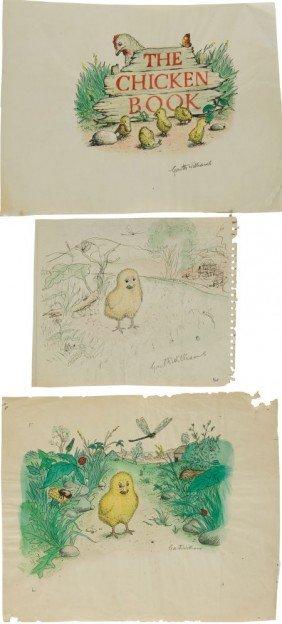 36438: Garth Williams. Six Original Watercolor and Ink