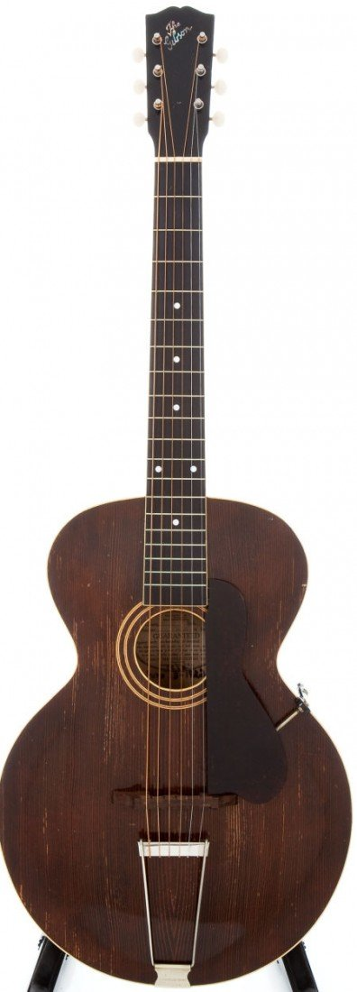 54004: 1921 Gibson L-1 Natural Acoustic Guitar, Serial