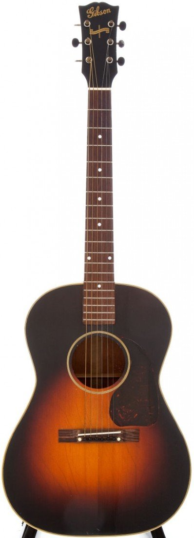54018: 1944 Gibson Banner Model LG-2 Sunburst Acoustic