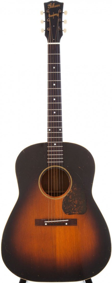 54019: 1944 Gibson J-45 Sunburst Acoustic Guitar.