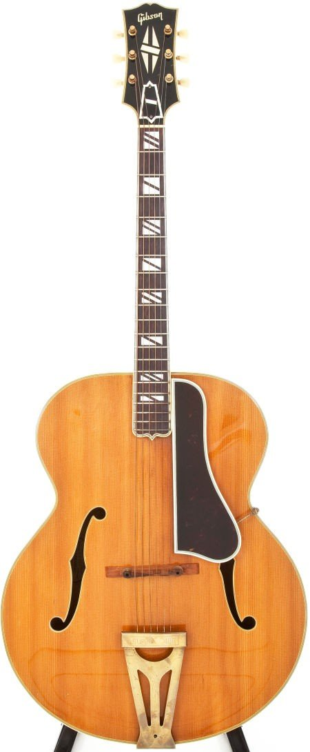 54024: 1948 Gibson Super 400 Blonde Archtop Acoustic Gu