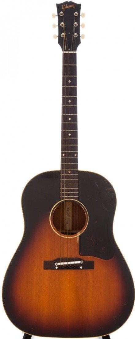 54049: 1959 Gibson J-45 Sunburst Acoustic Guitar, Seria
