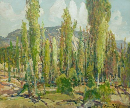 87019: CHARLES P. REIFFEL (American, 1862-1942) Eucalyp