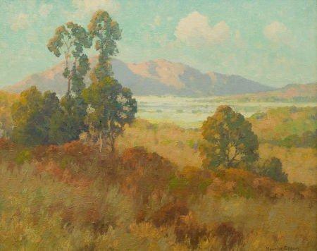 87022: MAURICE BRAUN (American, 1877-1941) Valley in Su