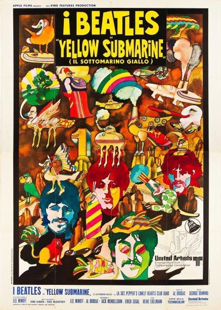 83392: Yellow Submarine (United Artists, 1969). Italian