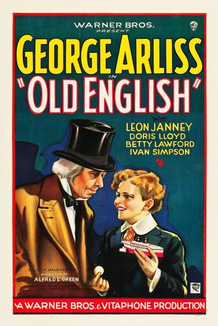 83023: Old English (Warner Brothers, 1930). One Sheet (