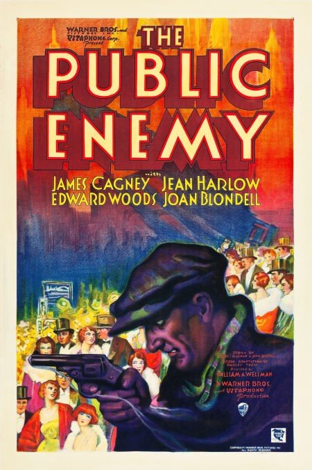 83024: The Public Enemy (Warner Brothers, 1931). One Sh