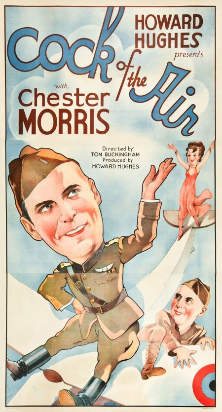 83035: Cock of the Air (United Artists, 1932). Three Sh