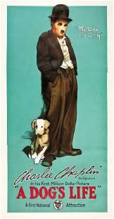 83070: A Dog's Life (First National, 1918). Three Sheet