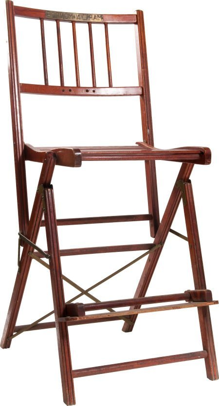46009: A Marilyn Monroe Likely Used Make-Up Chair, 1950