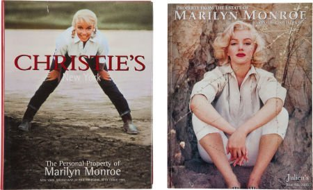 46011: Two Marilyn Monroe Auction Catalogues, 1999, 200