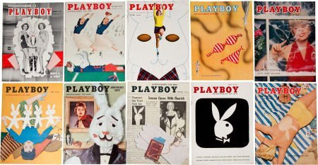 46013: Playboy Collection - All Issues 1954-56.