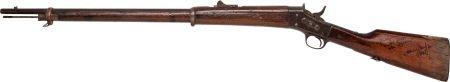 """46030: A John Wayne Signed Prop Rifle from """"The Alamo."""""""