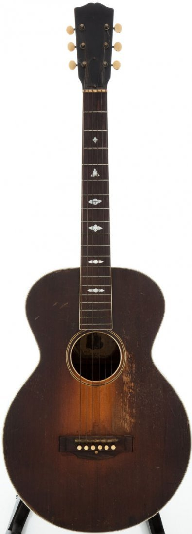 54005: 1928 Gibson Nick Lucas Sunburst Acoustic Guitar,