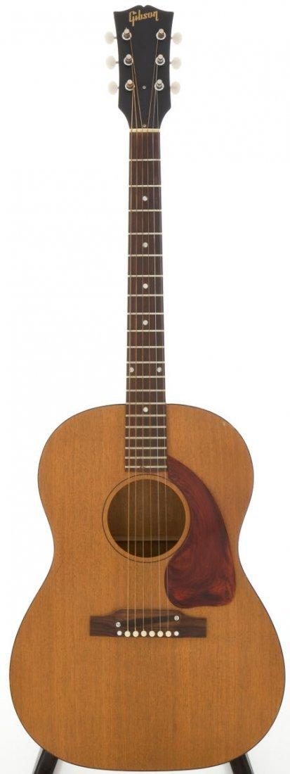 54025: 1952 Gibson J-50 Natural Acoustic Guitar, Serial