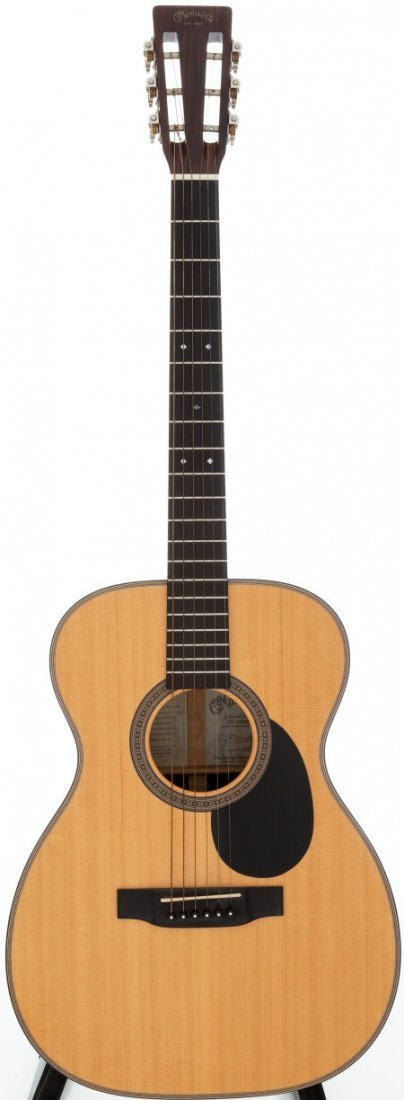 54104: 1998 Martin 00-16DBR Natural Acoustic Guitar, Se
