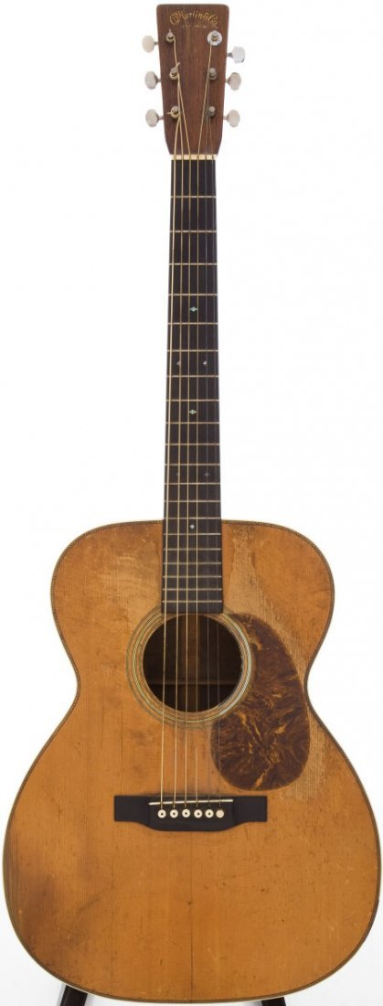 54074: 1938 Martin 000-28 Natural Acoustic Guitar, Seri