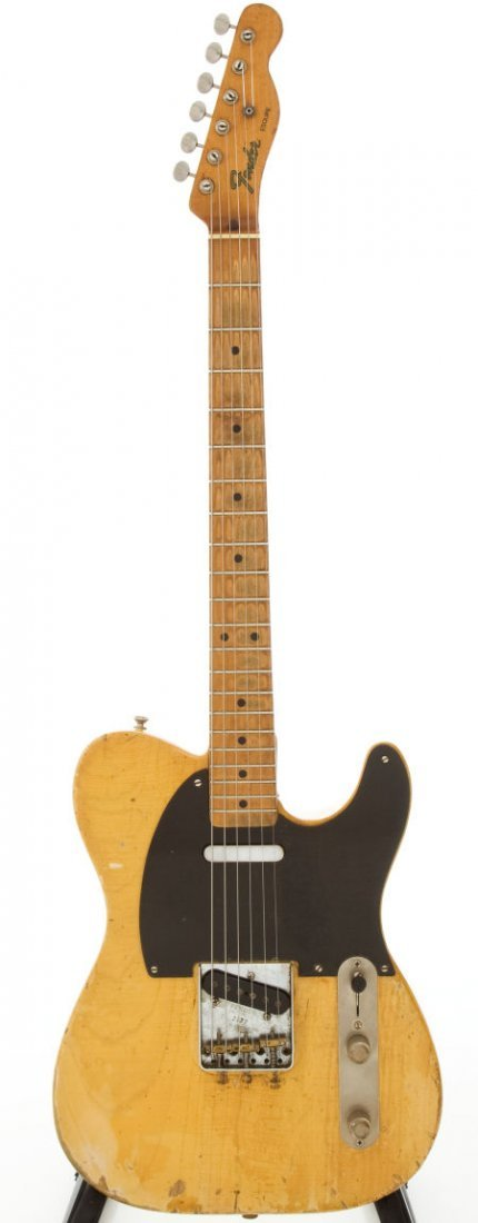 54207: Circa 1952 Fender Telecaster Blonde Electric Gui
