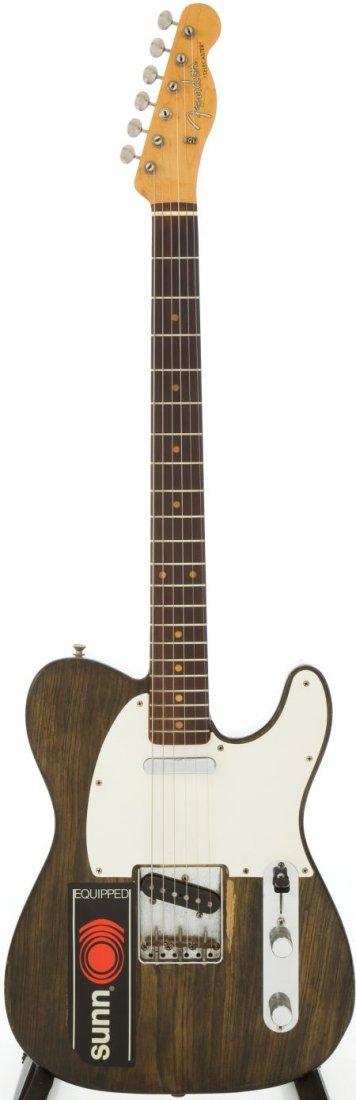 54212: 1959 Fender Telecaster Re-Finished Walnut Solid