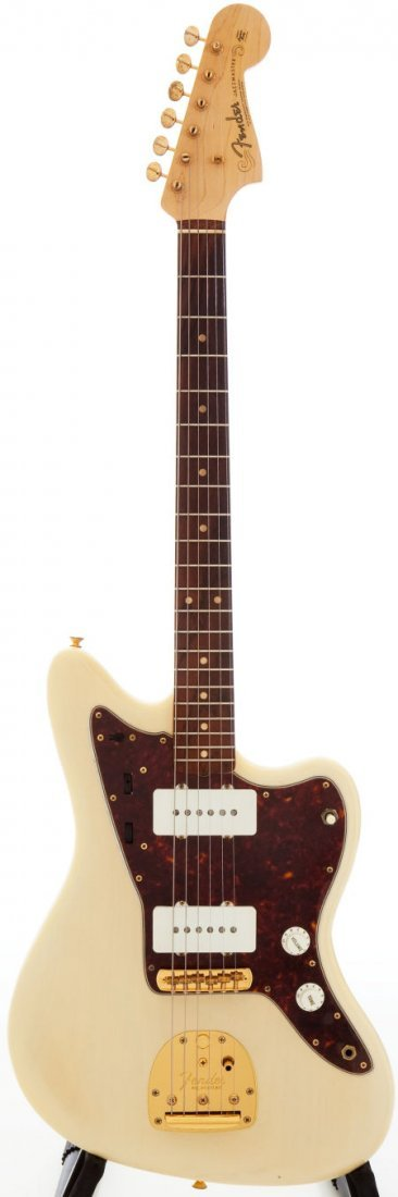 54219: 1961 Fender Jazzmaster Blonde Solid Body Electri