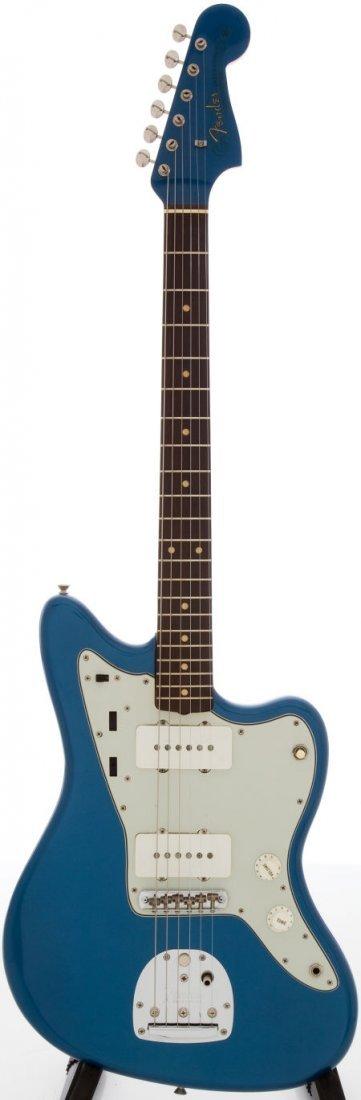 54225: 1963 Fender Jazzmaster Lake Placid Blue Solid Bo