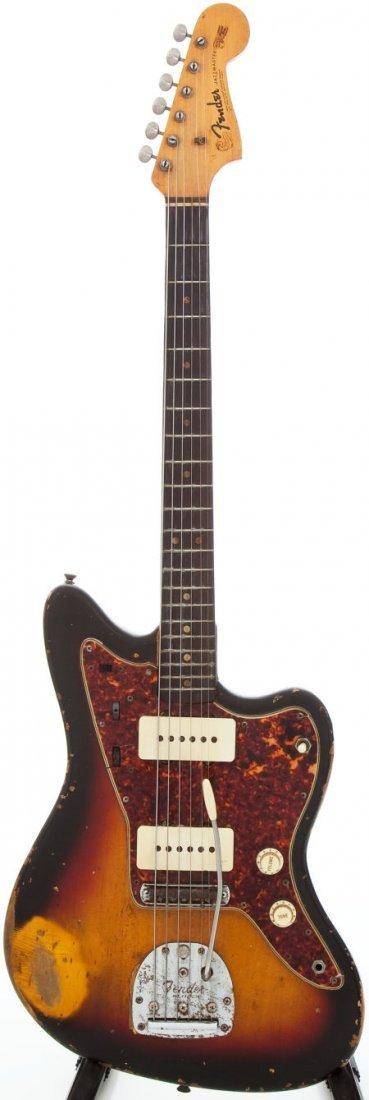 54226: 1964 Fender Jazzmaster Sunburst Solid Body Elect