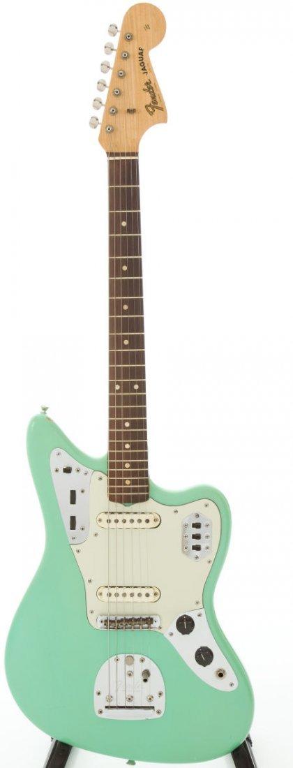 54227: 1964 Fender Jaguar Re-Finished Sea Foam Green So