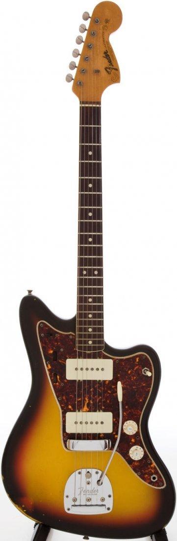 54233: 1966 Fender Jazzmaster Sunburst Solid Body Elect